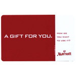 MARRIOTT<sup>&reg;</sup> $100 Gift Card